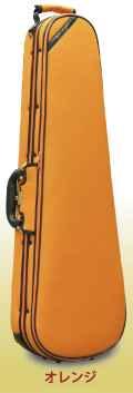 ★ ロッコーマン SuperLight・スーパーライト Shaped 三角バイオリンケース オレンジ 4/4サイズ用 【smtb-tk】