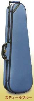★ ロッコーマン SuperLight・スーパーライト Shaped 三角バイオリンケース スティールブルー 4/4サイズ用 【smtb-tk】