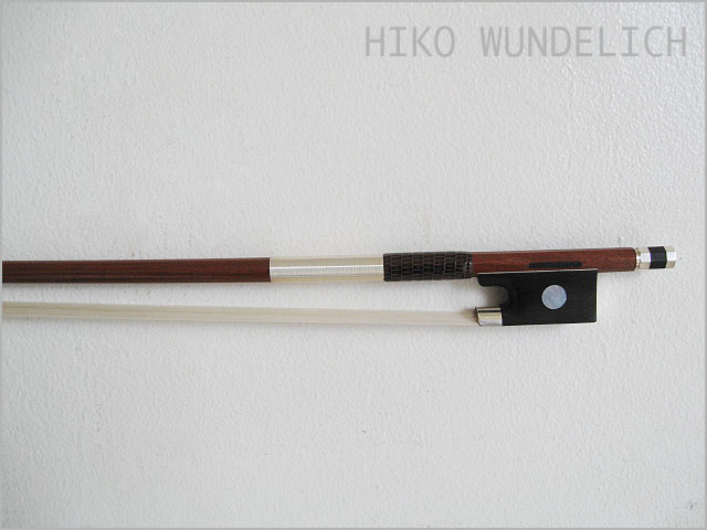 Heiko Wunderlich・ハイコブンダーリッヒ / ・4/4サイズ用 バイオリン用弓【smtb-tk】