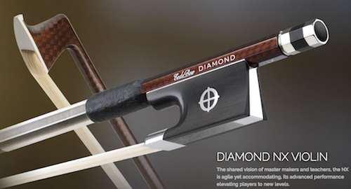 グラファイトファイバー製!CODA BOW・コーダボウ / DIAMOND NX VIOLIN BOW バイオリン用楽弓【smtb-tk】