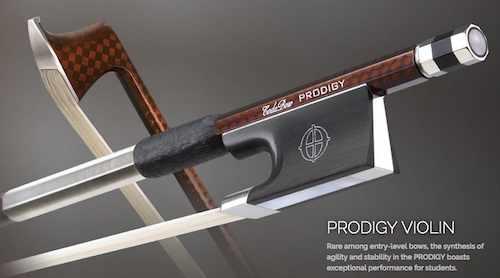 グラファイトファイバー製!CODA BOW・コーダボウ / PRODIGY LT VIOLIN BOW 3/4バイオリン用楽弓 ライトタイプ【smtb-tk】
