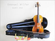 【 送料無料!】ドイツ製・1ランク上の初心者バイオリンセット・Emanuel Wilfer エマニュエル・ビルファー / model V50【smtb-tk】