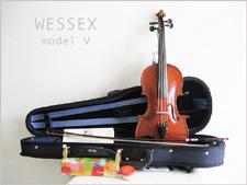 【 送料無料!】イングランド製・1ランク上の初心者バイオリンセット・WESSEX ウィルトシャー・model V【smtb-tk】