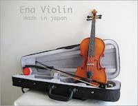 【 送料無料!】純国内生産・初心者バイオリンSet!Ena Violin 恵那バイオリン / No.10・1/16サイズ(身長105cm 以下) 【smtb-tk】