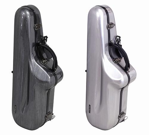 軽量で頑丈なポリカーボネイト製トランペット用ケース。 OMEBAIGE・オメベージ / TS-SMT テナーサックス用ケース ポリカーボネイト製 高耐久軽量ケース