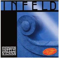 明るめの音色で共鳴感 残響共に良く明快な音色が特徴 セールSALE%OFF clstvnt Thomastik-Infeld 迅速な対応で商品をお届け致します INFELD BLUE インフェルト 4サイズ用Set弦 バイオリン弦 4 smtb-tk ブルー