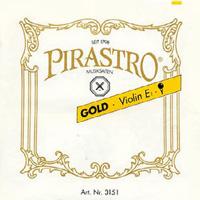 ★ Pirastro ピラストロ / Gold ゴールド バイオリン弦 E線スチール 4/4サイズ用Set弦【smtb-tk】