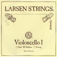 LARSEN ラーセン/ チェロ用弦(1A、2D スチール/クロムスチール巻・3G、4C スチール/タングステン巻)【smtb-tk】