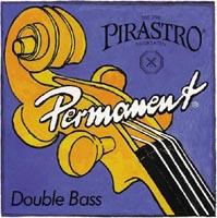 オーケストラでのクラシック音楽に適している弦です!【clstcbp】 ★ Pirastro ピラストロ / Permanent パーマネント(コントラバス弦 GDAEセット)【smtb-tk】