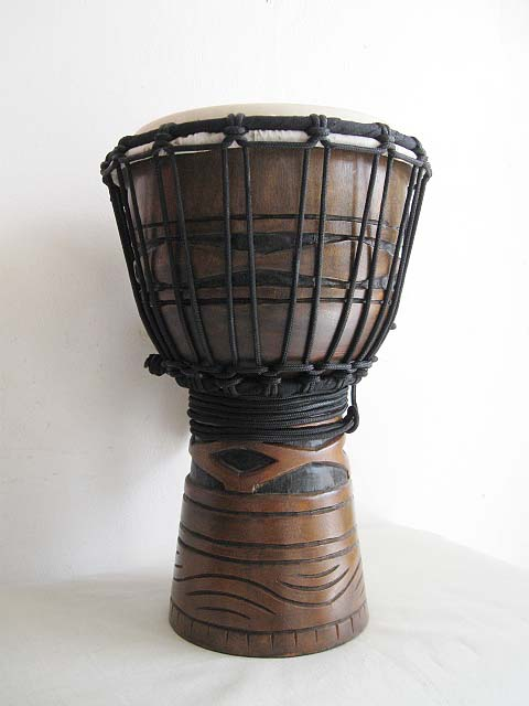 ★ TOCA トカ / Origins Wood Djembes African Mask Finish TODJ-8AM ジャンベ 8インチ 【smtb-tk】