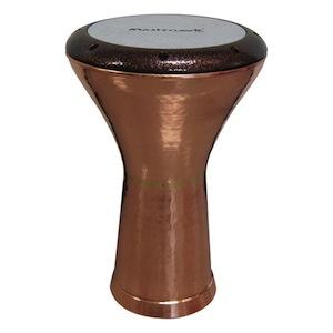 ◆ トルコ製!Masterwork・マスターワークス / EC-H107-Egypt Copper Hammered- Darbuka・Natural ダラブッカ 民族楽器【smtb-tk】