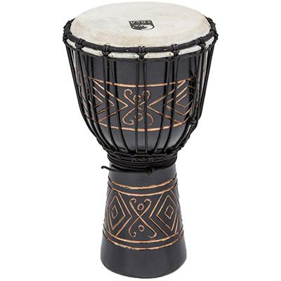 ★ TOCA トカ / Street Series Carved Djembe-Black Onyx-Large TSSDJ-LBO ジャンベ 12インチ 【smtb-tk】