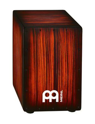 MINEL・マイネル / HCAJ2RTS カホン HEADLINER DESIGNER SERIES CAJONS Tiger Striped, Rojo 【smtb-tk】