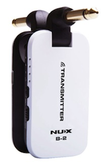 NUX B-2 WH [2.4GHz Wireless System]小型ギターワイヤレスセット・小型ベースワイヤレスセット