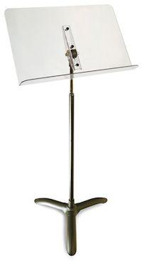 永久保証!! MANHASSET マンハセット / M47 ClearDesk・Symphony Stand クリアデスク・シンフォニーモデル (クリア) 譜面台