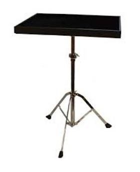 永久保証!! MANHASSET マンハセット / M2250 Percussion・TrapTable パーカッション・トラップテーブル (ブラック) 譜面台