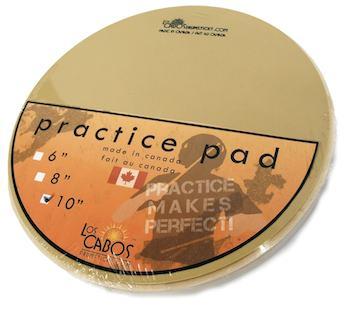 【ドラム練習グッズ】 LOS CABOS・ロス カボス / LCDPP10 10インチ Practice Pad ドラム練習パッド