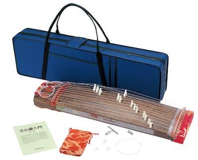 【 和楽器ランキング1位受賞店!】人気・和楽器!全音・ゼンオン zen-on / ZK-02 ハードケースセット 文化箏羽衣・学校教育用
