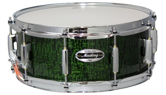 """【100台限定生産】Pearl・パール / MCT1455S/C-NM BanG Dream! Collaboration Snare Drum """"MASKING"""" Model コラボレーションスネアドラム"""