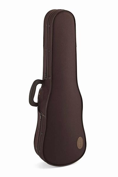 国内生産の満足・安心できるバイオリンケースです。 ☆ TOYO 東洋楽器 / UL SHELL R・UL シェル R 4/4サイズ用 チョコレート/ブラック