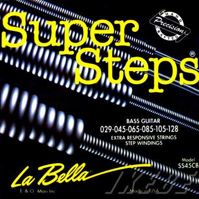 La Bella ラベラ / SS-45CB(Super Steps standard light 029-128 6弦用)