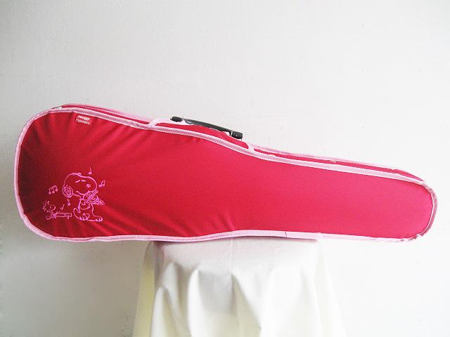 ☆ GEWA ゲバ / WetterStein スヌーピー 4/4サイズ用 バイオリン用ケース (レッド・ピンクライン)【smtb-tk】