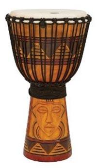 ★ TOCA トカ / Origins Rope Tuned Wood Djembes Tribal Mask TODJ-12TM ロープチューンド ジャンベ 12インチ 【smtb-tk】