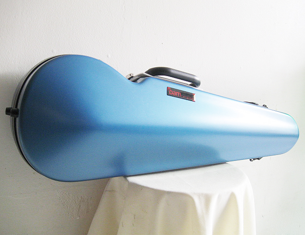 BAM バム / Hitech Contoured violin case 2002XLB ハイテックコンツアード(ハイテックフォルメ)アズールブルー バイオリン用ケース【smtb-tk】
