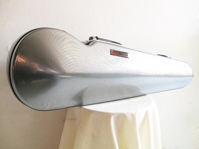 ☆ BAM バム / Hitech Contoured violin case 2002XLSC ハイテックコンツアード(ハイテックフォルメ)シルバーカーボン バイオリン用ケース【smtb-tk】