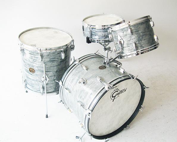 【中古】希少!60年~70年代製 ヴィンテージ ドラム !Gretsch グレッチ / Jazz Kit【smtb-tk】
