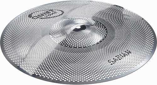 【ドラム練習グッズ】 SABIAN・セイビアン / SAB-QTQC1606 QUIET TONE 16インチ クラッシュ 練習用静音ドラムシンバル