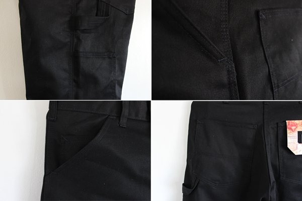 Made in USA StanRay (Stanley) cotton 100% catslagipe Internet shorts black #1130/Black Moving Pants
