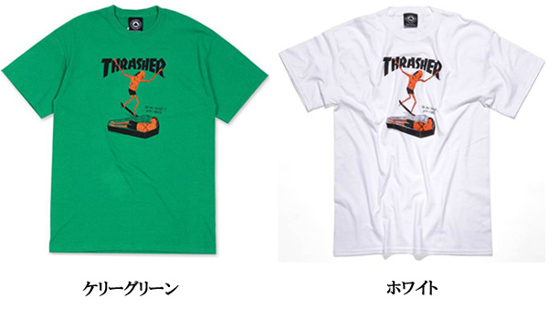 ... 169a0 255e9 THRASHER MAGAZINE Thrasher Magazine neck amp face coffin  printed short sleeve T Shirt 2 ... d744e81134