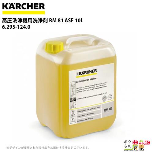 ケルヒャー 高圧洗浄機用洗浄剤 RM 81 ASF 10L 6.295-124.0