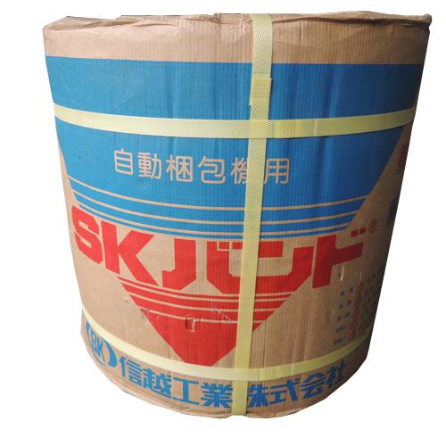 信越工業PPバンド 2巻入(1ケース) 12×3000m   色:黄色