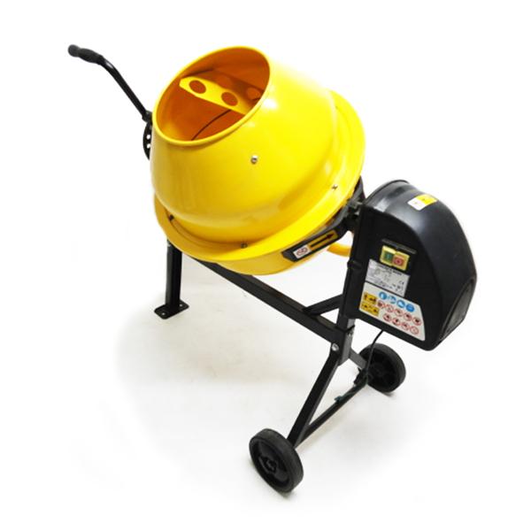 移動車輪付コンクリートミキサーまぜ太郎 AMZ-50Y種子コーティング・肥料、飼料混合等に