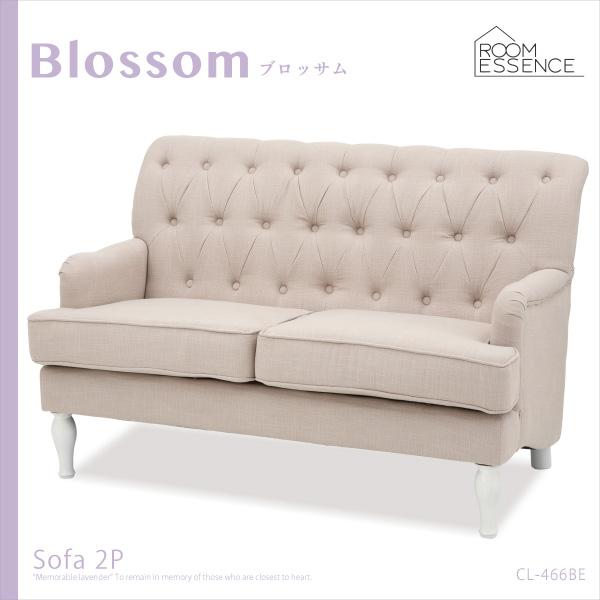 2人掛けソファ ソファ ソファー sofa 椅子 フレンチアンティーク アンティーク 姫系 お姫様 リビング デザイン CL-466BE