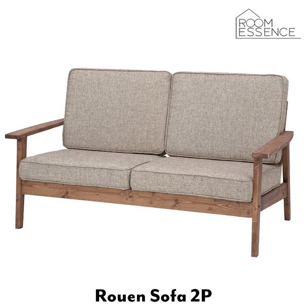 ソファ 幅141cn 2人掛け ソファー sofa 収納 布地 布張 天然木 フレーム 木製 デザイン 家具 リビング インテリア フレンチ 可愛い CFS-846