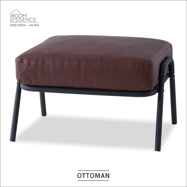 スツール オットマン 腰掛スツール 腰掛椅子 玄関椅子 椅子 ソフトレザー 合成皮革 シンプル ビンテージ アンティーク HS-953
