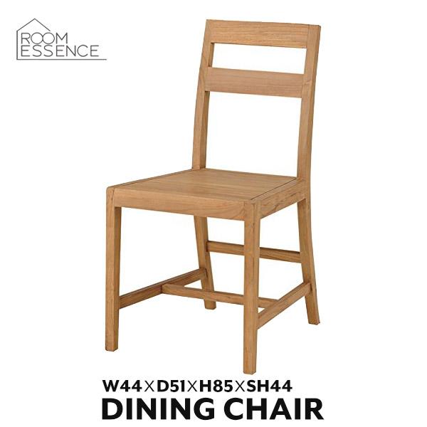 ダイニングチェア 座面高さ44cm チェア 椅子 イス チーク材 木製 天然木 ナチュラル タイムレステンダー TTF-168