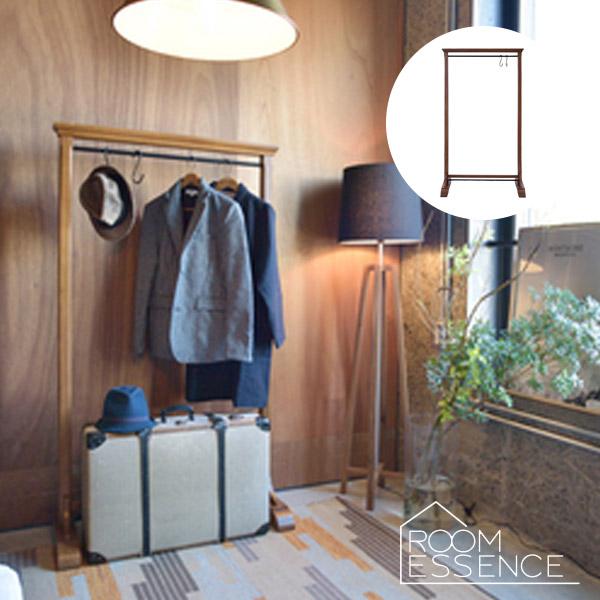 ハンガーラック 幅91×160cm コートハンガー 洋服掛け 衣類収納 シンプル デザイン 木製 GUY-655