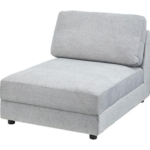 ソファ 幅86cm 1人掛け L ソファー 椅子 ファブリック 贅沢 座り心地 ゆったり イーズ HS-443BR HS-443GY