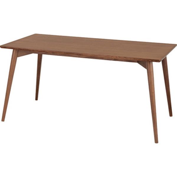ダイニングテーブル 幅150cm テーブル 机 木製 シンプル ブラウン KRM-150BR