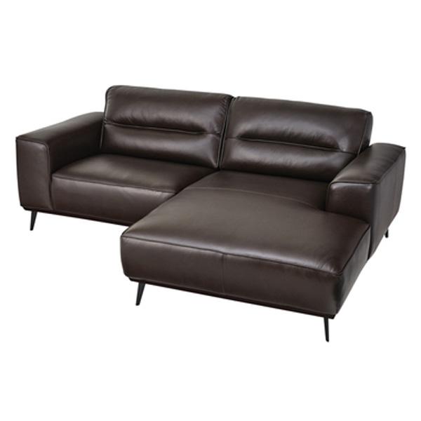 カウチソファ 向かって右カウチ 幅214cm ソファー 椅子 本革 レザー 贅沢 座り心地 マグナ WE-903A