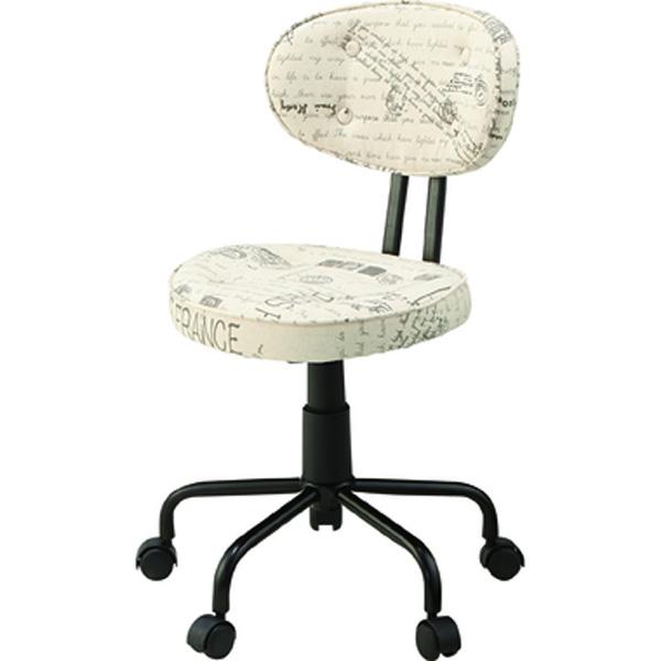 デスクチェア オフィスチェア ワークチェア チェア 椅子 キャスター付き ファブリック テレワーク 在宅勤務 ベージュ ブラウン KGI-109BE KGI-109BR