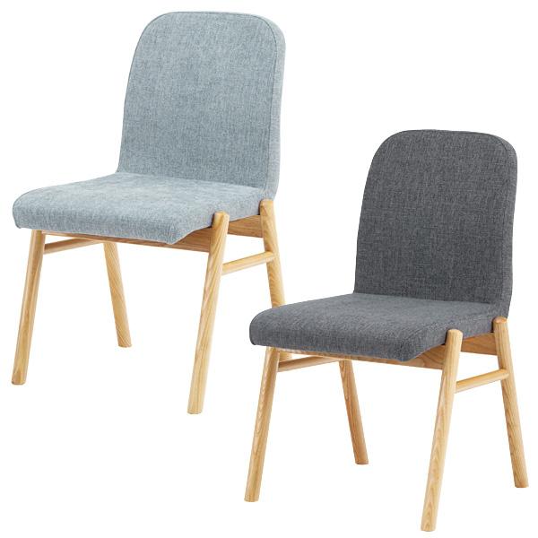 ダイニングチェア 座面高さ45cm チェアー 椅子 イス 木製 おしゃれ カフェ cafe ダークグレー ライトグレー NOC-11DGY NOC-11LGY