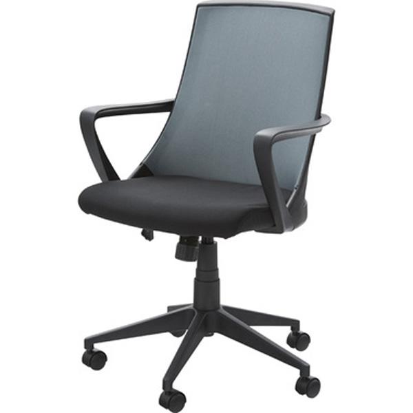 オフィスチェア デスクチェア ワークチェア チェア 椅子 キャスター付き 肘付き 肘掛け ファブリック 昇降式 テレワーク 在宅勤務 ブラック ホワイト OFC-11BK OFC-11WH