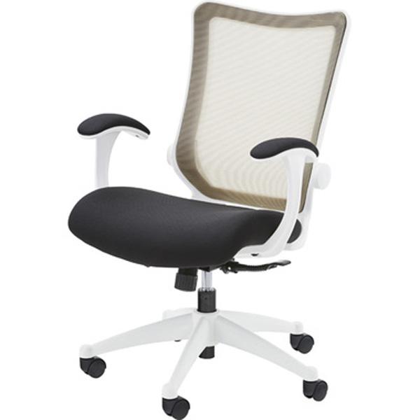 オフィスチェア デスクチェア ワークチェア チェア 椅子 キャスター付き 肘付き 肘掛け ファブリック テレワーク 在宅勤務 ベージュ ブラック グリーン OFC-20BE OFC-20BK OFC-0GR