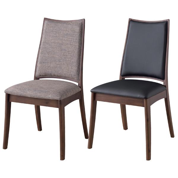 ダイニングチェア 座面高さ45cm チェア 椅子 食卓 木製 北欧 合皮 レザー ファブリック グレー ライトブラック RP-502GY RP-502LBK
