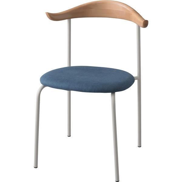 チェア ダイニングチェア 座面高さ46cm 椅子 ダイニング リビング 天然木 木製 スチール シンプル TEC-72
